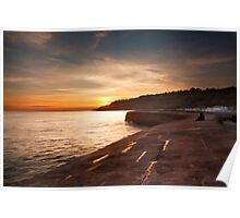Sunset on the Cobb Poster