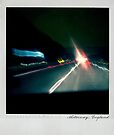 Motorway Polaroïd by Laurent Hunziker