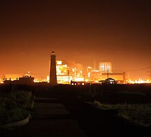 Dungeness at Night by Dave Godden