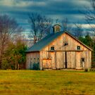Barn on Valley Road by Monica M. Scanlan