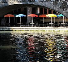 Riverwalk Cafe by Loree McComb
