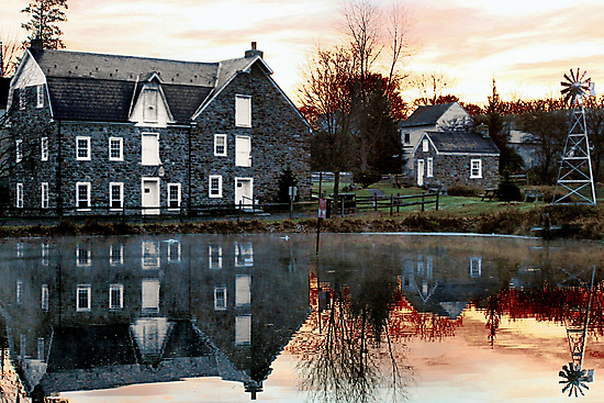 Reflection at Wagner Mill by djphoto