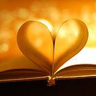 Book Heart Bokeh by Eric Martin