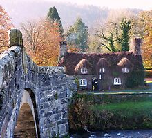 Cottage Tea Rooms, Llanrwst by artfulvistas