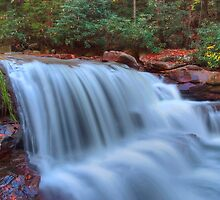Rushing Waters of Decker Creek in HDR by Gene Walls