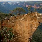 Hanging Rock, Blackheath by Michael John