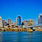 Cincinnati Skyline by Brandon Batie