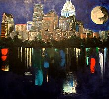 Austin Skyline by mataki