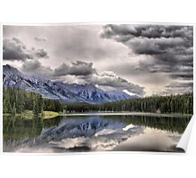 Cascade Mountain & Johnson Lake Poster
