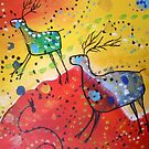 Deer Trails by Kay Hale