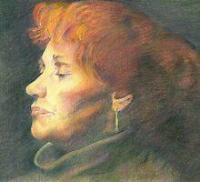 female portrait by Liz Watt
