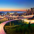 Seattle Freeways by Inge Johnsson