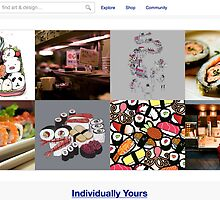8 November 2010 - Sushi  by The RedBubble Homepage