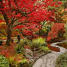 Japanese Garden in Butchart Gardens, BC, CANADA by AnnDixon