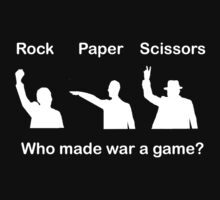 Rock Paper Scissors by Cathie Tranent