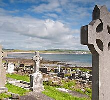 Burial Grave Site In Lahinch Liscannor County Clare Ireland by upthebanner