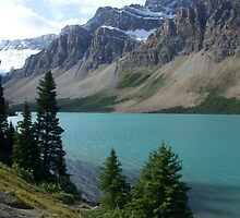 Bow Lake Alberta Canada by Ravred