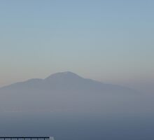 Vesuvius at Dusk by Browneyedgirl78