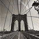 Brooklyn Bridge in New York city by sumners