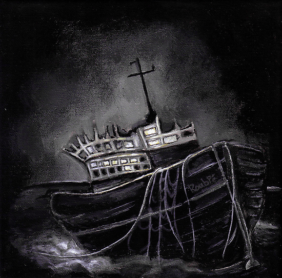 Dark Voyage by ROUBLE RUST
