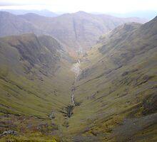 The Hidden Valley Glencoe by R John Hughes
