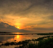 Salt Marsh Sunrise by Michael Mill