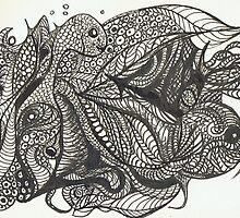 Fish Frenzy by Cathy Gilday