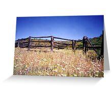 Old Stockyard, Kathleen Springs Greeting Card