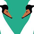 Swan Pair by exvista