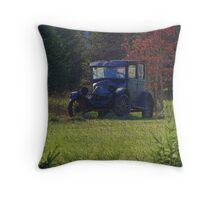 Woodland Cruiser Throw Pillow