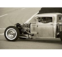"""Old School"" pick-up Photographic Print"