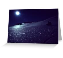 Moonscape on Annette Plateau  Greeting Card