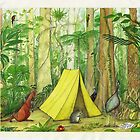 Daintree Campsite by Nestor