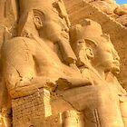 Abu Simbel by Paul Tait