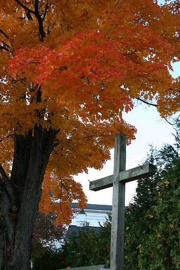 Old Rugged Cross by Linda Jackson