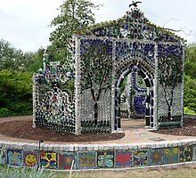 Minnie Evans Bottle Chapel by nealbarnett