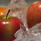 Apple on Ice by Jojie Certeza
