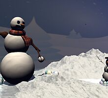 Snowball Fight by plunder