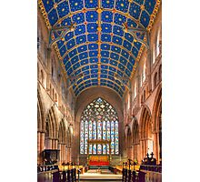 Nave, Carlisle Cathedral, Cumbria, England Photographic Print