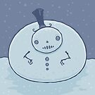 Pudgy Snowman by fizzgig
