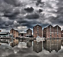 Gloucester Docks by Paul Rowson