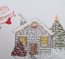 Christmas Cabin 1 by MicRiddy