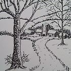 A Snowy Winter's Peace 2 by MicRiddy