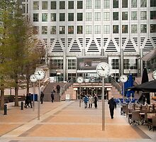 Time Check: Canary Wharf, London, UK. by DonDavisUK