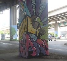 Dallas Graffiti by Katelin Scott
