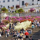 Spanish Steps, Roma by Harry Oldmeadow