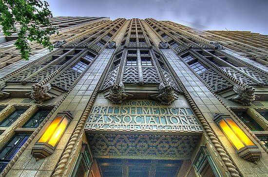 Art Deco Gothic - BMA House c1929-30 - The HDR Experience by Philip Johnson