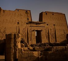 Temple of Edfu by Paul Tait