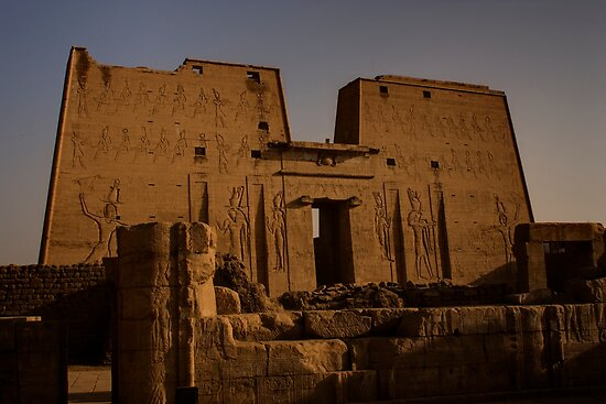 Temple of Edfu by Paul Tait