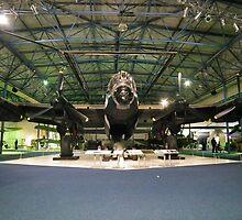 Avro Lancaster 1 (RAF Hendon) by Andy Jordan